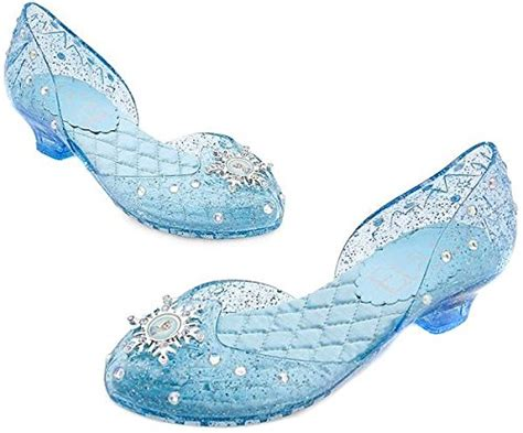 disney store frozen elsa light up shoes buy authentic disney store frozen princess elsa shoes