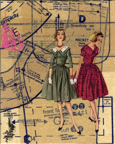 history of pattern in art merely the moon a history of vintage sewing patterns