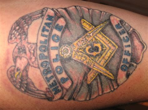 police with tattoos 12 beautiful badge tattoos