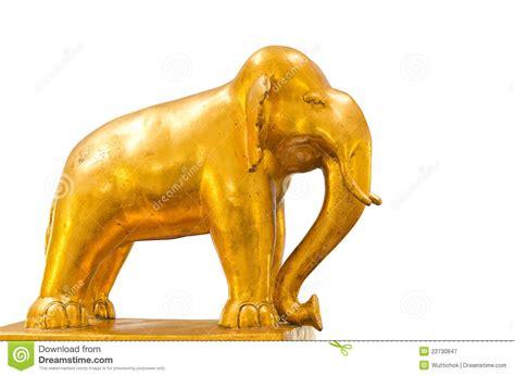 golden house miniature gold toy stock illustration golden elephant royalty free stock photography image