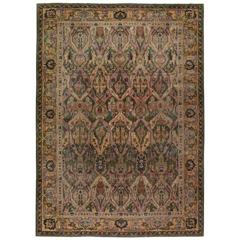 lahore rugs antique indian lahore rug for sale at 1stdibs