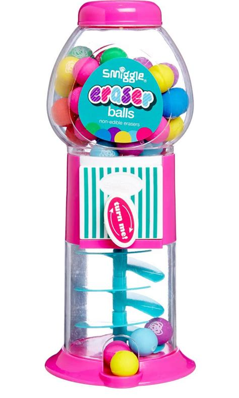 Home And Interior Gifts by Smiggle Candy Eraser Gumball Machine Australia