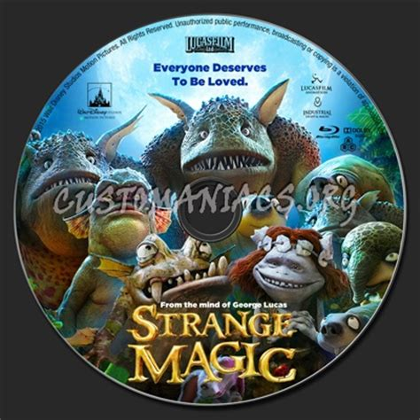 Dvd Strange Magic strange magic label dvd covers labels by