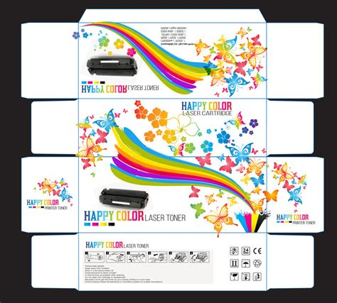 Toner Blueprint create print and packaging designs for happy color printer