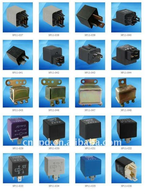 Car Relay Types by 12v 30a Universal Type Auto Relay With Transparent Cover