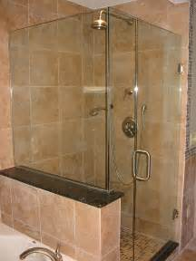 bathroom glass enclosure frameless stylish designs and options for shower enclosures