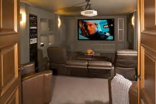 Small Home Theater Photos Turn The Small Basement Into A Cool Home Theater Decoist
