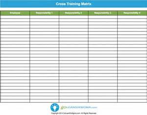 Employee Cross Template by Employee Safety Matrix Template Excel