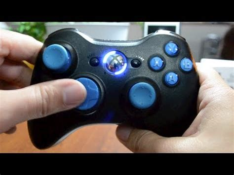 17 mode modded xbox 360 controller overview drop shot
