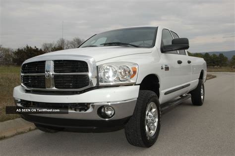2007 dodge ram 2500 big horn 4wd diesel automatic