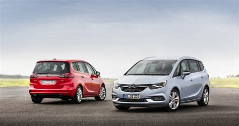 Opel Zafira by 2017 Opel Zafira Starts Production In Germany Carscoops