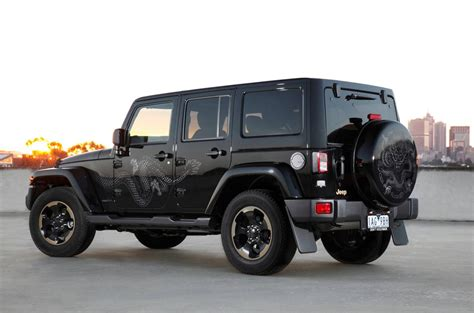 Jeep Wrangler Editions Jeep Wrangler Limited Edition Launched Photos 1