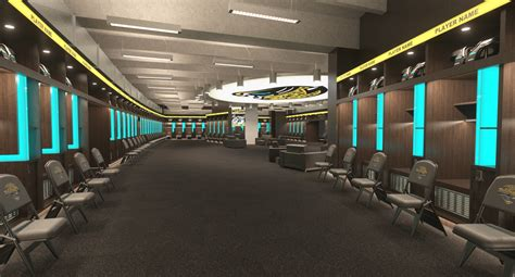 nfl locker room 60 minutes features populous designed jacksonville jaguars locker room