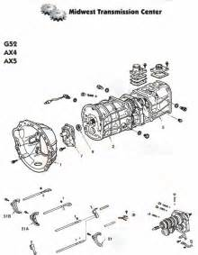 toyota g series manual transmissions g52 g53 g57 and g59