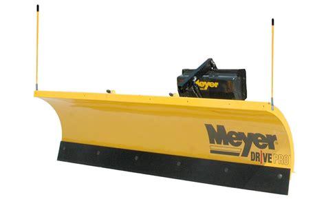 light duty snow plow meyer drive pro snow plow dejana truck utility equipment