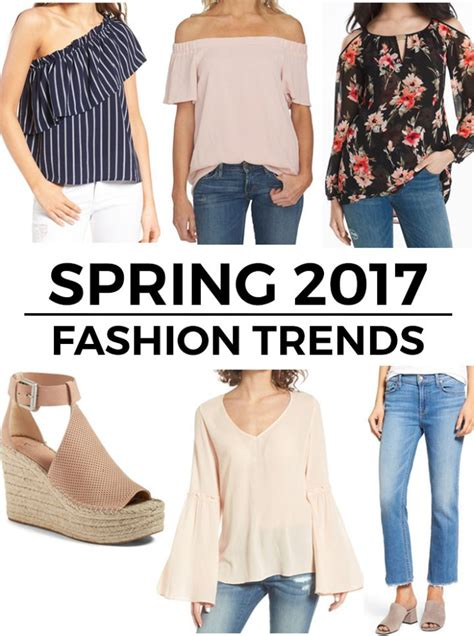 top trends 6 top spring 2017 fashion trends