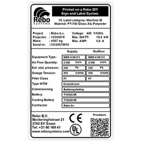 Label Templates Rebo Systems Ce Label Template