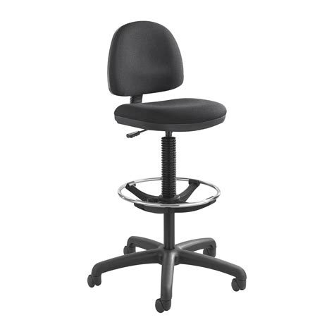 chair seat height safco precision extended pneumatic seat height adjustable