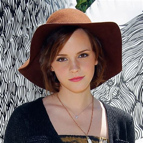 summer hats for women with short hair stylenoted emma watson s sun hat casts style spell
