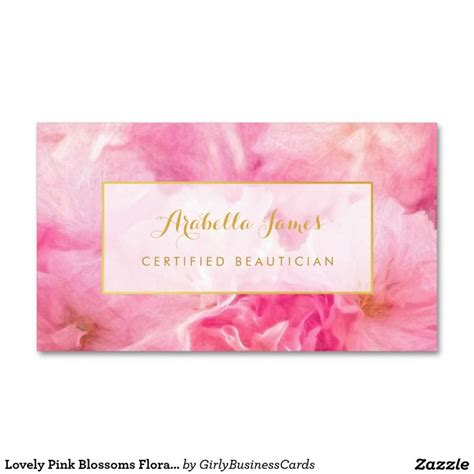 Girly Business Card Templates by 1000 Images About Girly Business Cards On