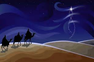 Wise Men Following The Star Coloring Page » Home Design 2017