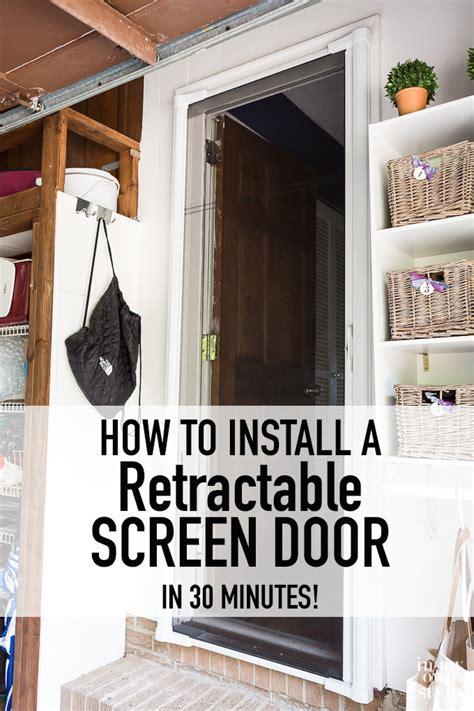 Installing A Sliding Screen Door by Diy Screen Door Fail In Own Style