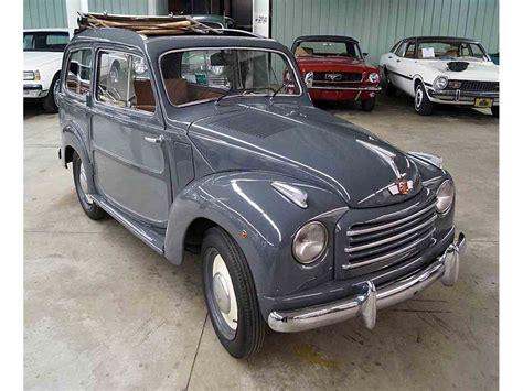 fiat 500 topolino for sale 1952 fiat 500c topolino belvedere for sale classiccars