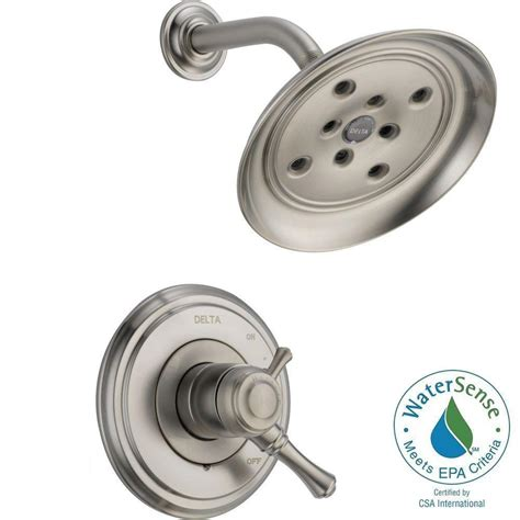 delta cassidy 1 handle shower only faucet trim kit in