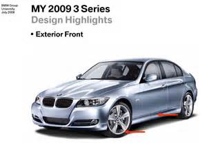 Bmw 328i Vs 335i 2008 Bmw 3 Series Vs 2009 3 Series Facelift In Images