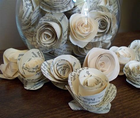 How To Make Vintage Paper Flowers - krista sew inspired vintage paper flower tutorial