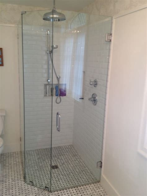 bathroom mirror2 vancouver glass north vancouver glass compact curbless corner shower greater vancouver