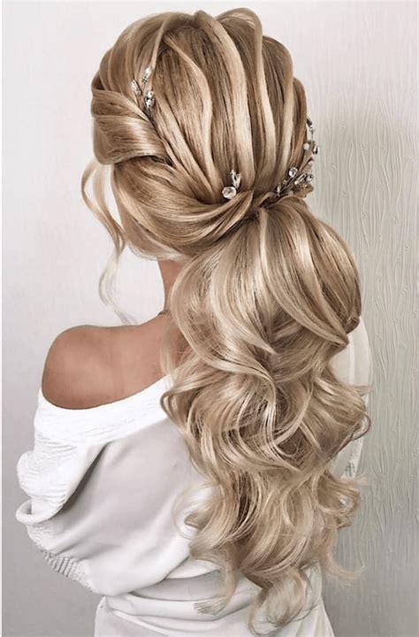 hochzeit frisur fuer langes haar von hinten frisuren