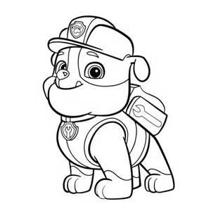 dibujos patrulla canina colorear fotos dibujos ellahoy