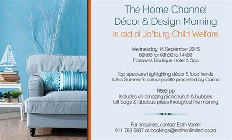 home channel decor and design morning the home channel d 232 cor and design morning joburg
