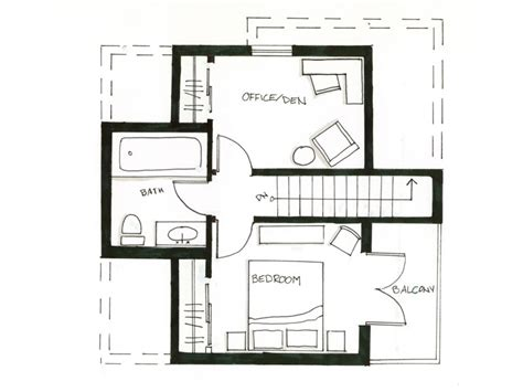 laneway house plans arts crafts floorplans smallworks ca