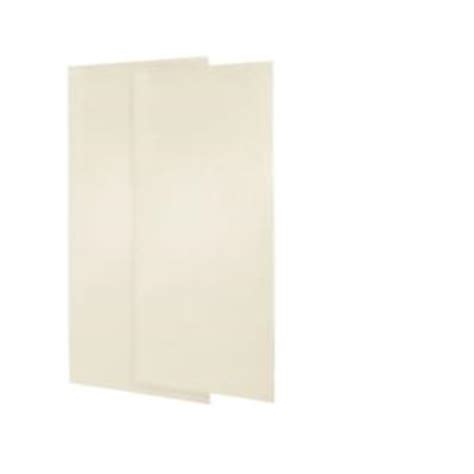 bathroom wall paneling home depot swan 36 in x 72 in 2 piece easy up adhesive shower wall