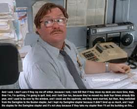 Office Space Stapler Quote office space quotes quotesgram