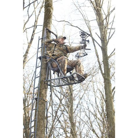 tree stand guide gear comfort hang on tree stand 158970
