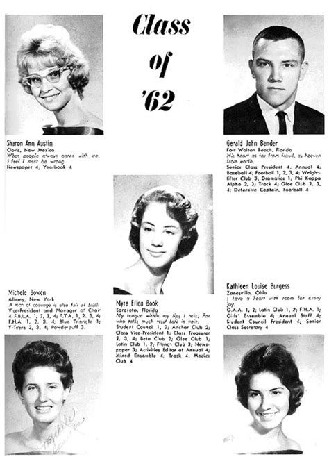 1962 Fledgling Yearbook - Class of 1962 - Pages 19 to 36