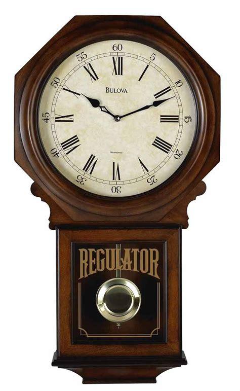 wall watch bulova c3543 ashford ii regulator chiming wall clock gtb6522