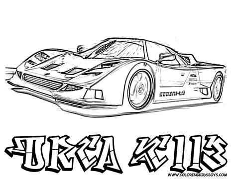 real cars coloring pages download and print for free