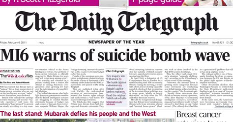 The Sunday Telegraph by Daily Telegraph 911blogger