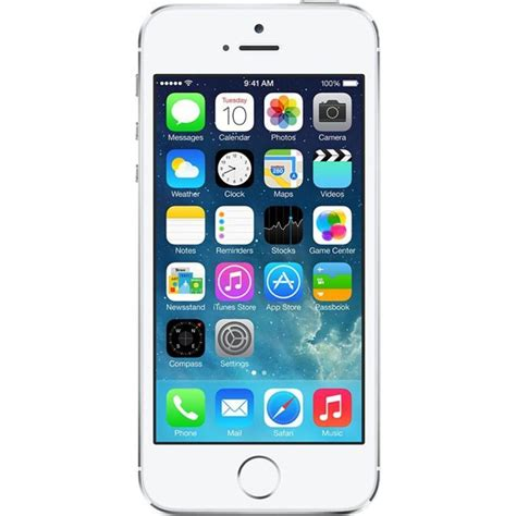 Apple Iphone 5s Silver Iphone 5s E telefon mobil apple iphone 5s 16gb silver emag ro