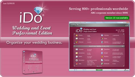 Wedding Planner Software by Wedding Planner Wedding Planner Software