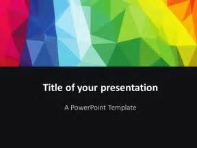 modern powerpoint presentation templates modern polygons powerpoint template presentationgo