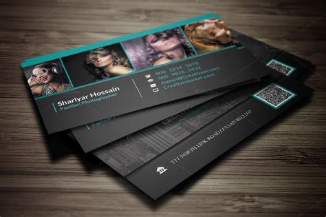 free photography business card template cheap business cards 25 free psd ai vector eps format