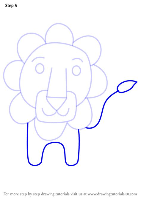 L Drawing Step By Step by Learn How To Draw A From Letter L Animals With
