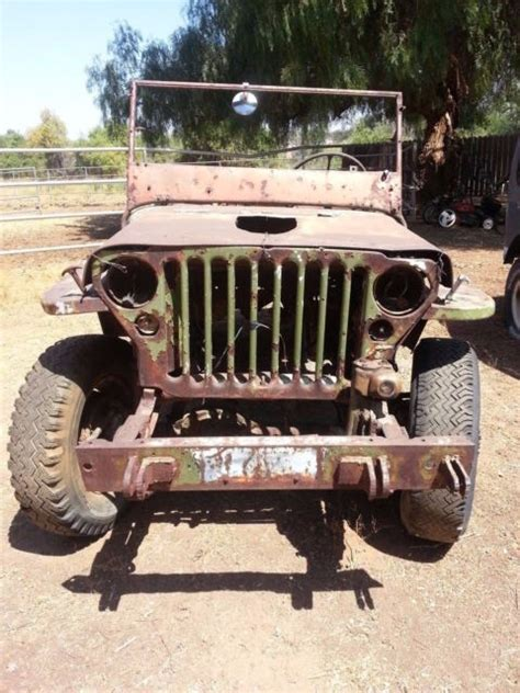 wwii jeep engine 1944 willys mb script original wwii military jeep calif