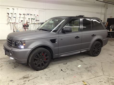 wrapped range rover dark grey vinyl wrap range rover sport yelp