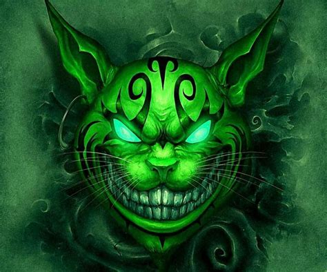 wallpaper cat tattoo cheshire cat evil chshire world pinterest